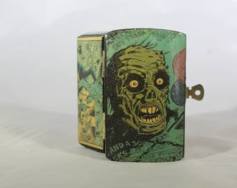 Custom Zombie Comic Stash Box