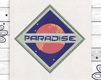 Paradise Embroideries Discount 10% Machine embroidery design 4 sizes INSTANT DOWNLOAD EE5123