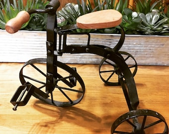 Vintage Tricycle - Rustic Decor