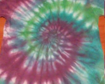 Adult Small Spiral Tie-Dye Shirt