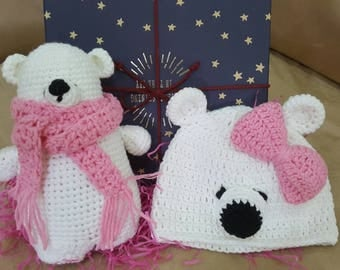 Newborn baby polar bear gifts