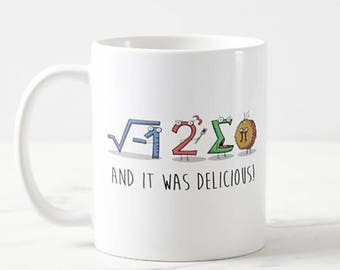 I 8 Sum Pi Math Teacher Mug Joke Gift