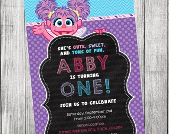 Abby Cadabby Invitation