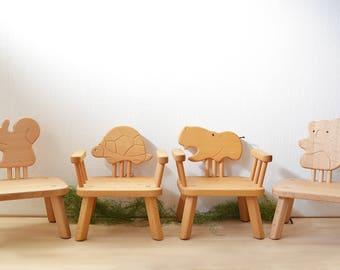 Kids Furniture, Animal Chairs (Squirrel/Turtle/Hippopotamus/Koala) Baby /