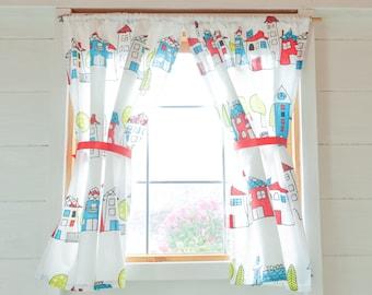 School days playhouse curtains