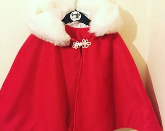 Christmas cape   Etsy