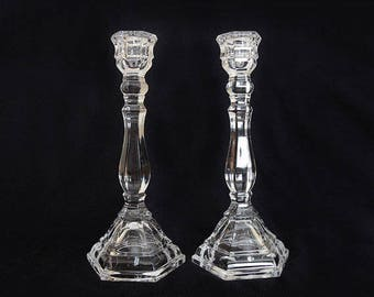 Vintage Pair of Tiffany & Co. Candle Holders - Signed.