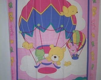 Stuffed Animals Pink Balloon Ride