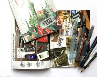 "Sketchbook ""Hand and HeART vol.1: LANDSCAPES - FABIA ZOBEL"""