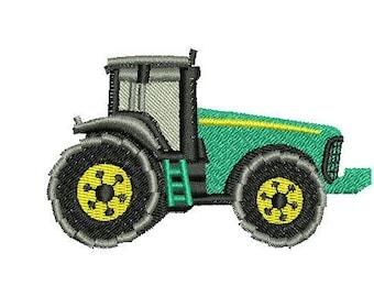 NeedleUp - tractor embroidery design
