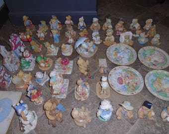60 Cherished Teddies lot