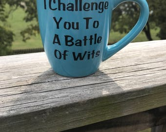 Challenge you to a Battle of Wits