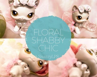 LPS Outfit Floral Shabby Chic
