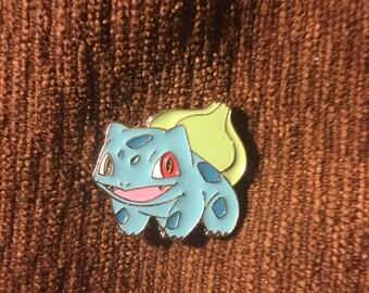 pokemon bulbasaur hat pin