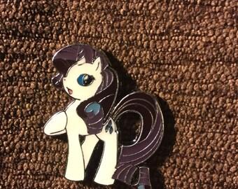 My Little Pony Rarity hat pin
