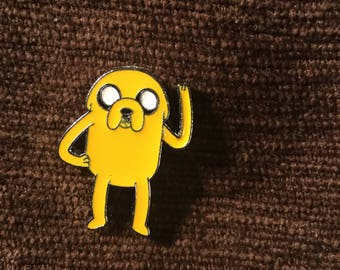 Adventure Time jake the dog hat pin