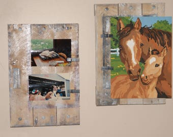 These are very nice picture/note holder or art displays