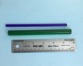 2 Acrylic Mini Brayers: the Puffin-Wand and the Puffin-Rod.