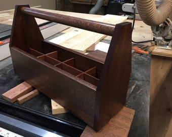 Wood Carpenter Tool Box