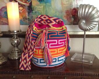 Handmade handbags.