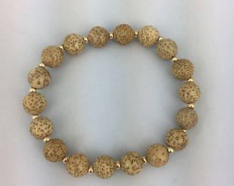 Yellow Bodhi XingYue Pu Tizi Bracelet ,
