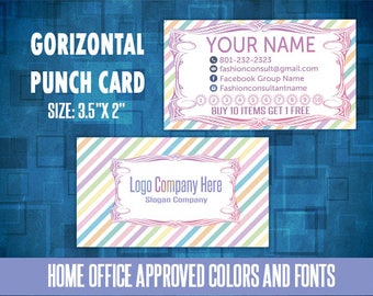 Lularoe business cards home office approved | Etsy