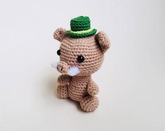 Crochet Boar Amigurumi