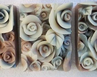 Purple Rose Natural Soap