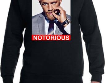 Conor McGregor 'Notorious' Crewneck