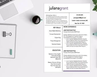Sleek and Modern Resume