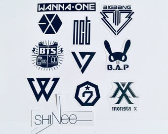 Kpop Boy Group Stickers