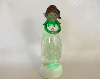 """Holiday Glitter Light by Valerie - 12"""" Battery Operated"""