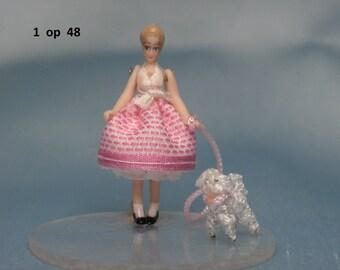 Barbie - look a like  doll 1:48