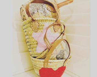 Mini Sequin Basket