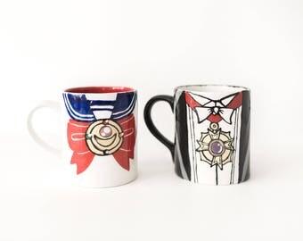 Sailor Moon & Tuxedo Mask Couples Mugs