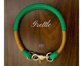 Outdoor Collars//Dog Collars//Christmas Collars//Green Collars//Rope Collars//Collars//outdoor Dog Collars