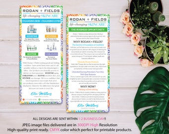 Rodan and Fields Business Opportunity, Why Rodan + Fields Card, RF Product Cards, Business Opportunity Flyer, Digital files RF08
