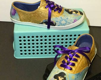 Jasmin (Aladdin) Inspired Shoes