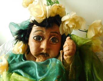 Changeling Baby Puppet - Midsummer Night's Dream