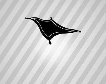 magic carpet Silhouette - Svg Dxf Eps Silhouette Rld RDWorks Pdf Png AI Files Digital Cut Vector File Svg File Cricut Laser Cut