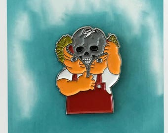 Bony Tony Custom lapel Pins