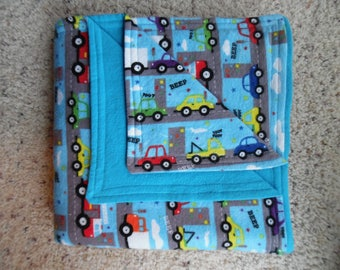 Cars, Cars and More Cars Baby/Toddler Blanket