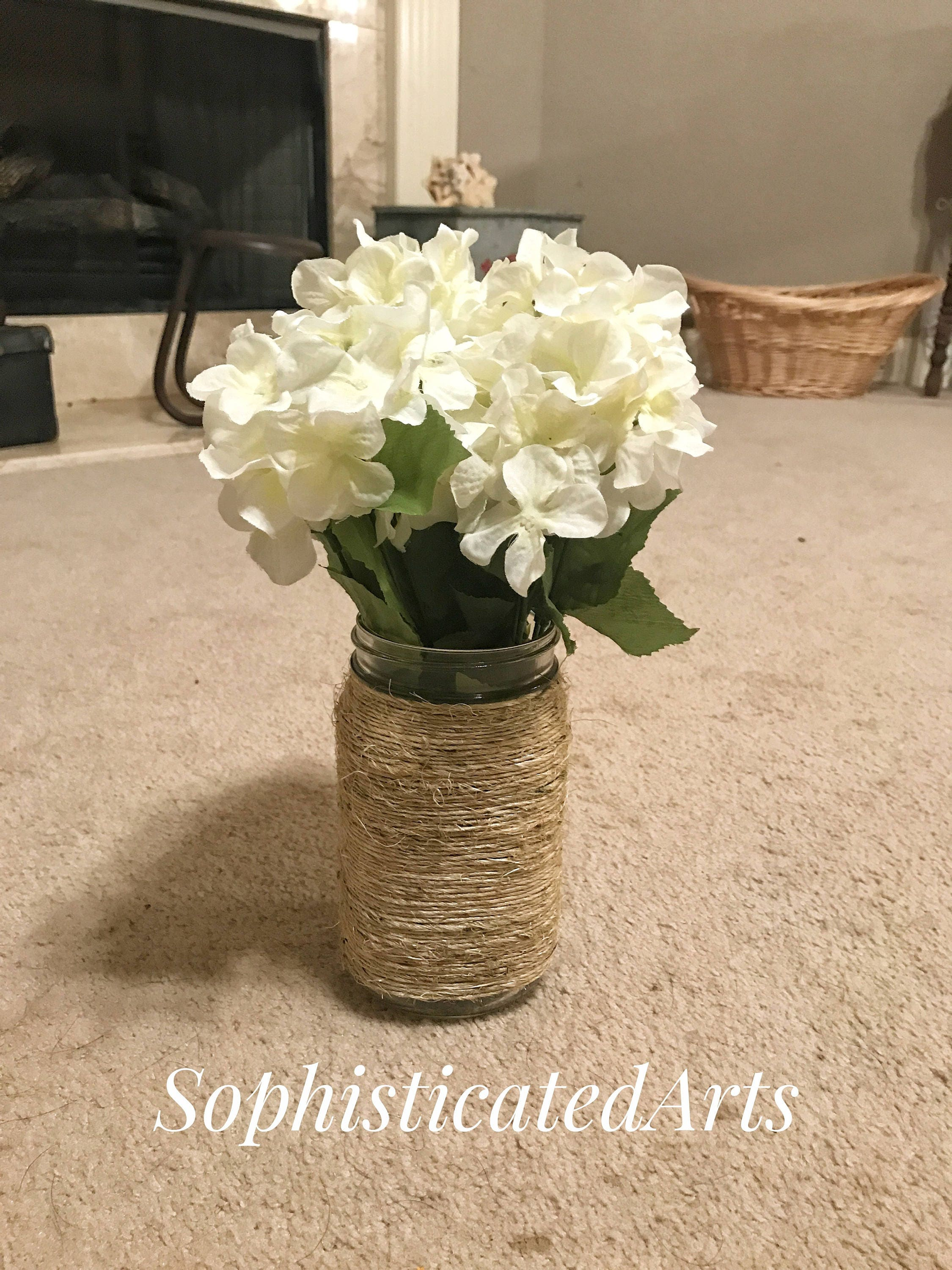 Rustic Mason Jar Centerpieces Wedding Decor Home And Living 24oz Gifts For
