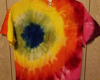 Custom pattern tie dye shirts