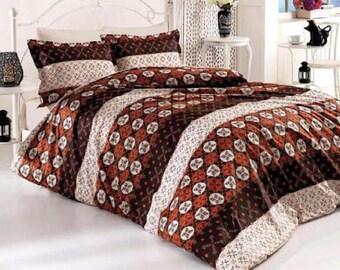 Linen Coverlet, Linen Bedspread, Linen Blanket, 05