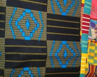 """6-076 - WAX """"KITA ou KENTE"""" en provenance du Togo"""