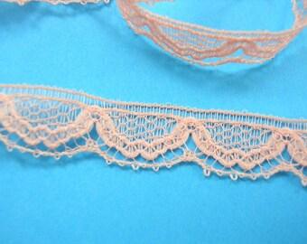 Apricot lace: width 10mm length 100cm (08)