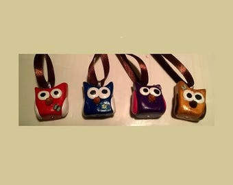 Christmas character hanging OWL tree decoration