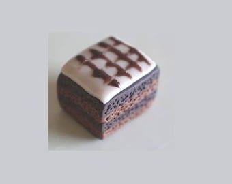 Daintiness, mini chocolate, polymer clay