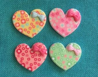 Colorful Heart Resin/Acrylic Needle Minder